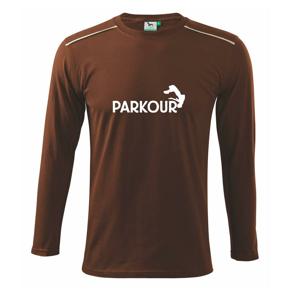 Parkour - salto - Tričko s dlhým rukávom Long Sleeve