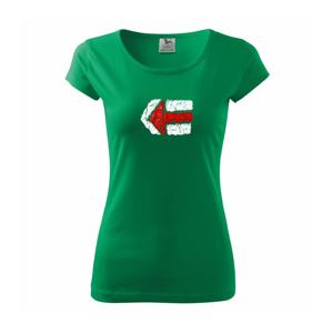 Párová značka červená - Pure dámske tričko