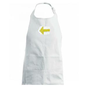 Párová značka žlutá - Zástěra na vaření