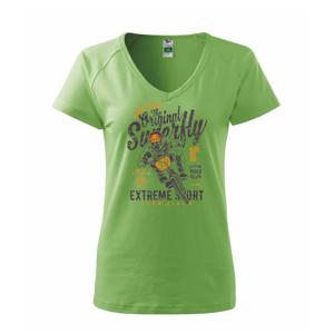 Pedal Pusher - Tričko dámske Dream