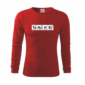 Periodická tabulka - Teacher - Tričko detské Long Sleeve