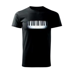 Piano v tme - Tričko Basic Extra veľké