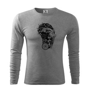 Pirátske tetovanie - Tričko s dlhým rukávom FIT-T long sleeve