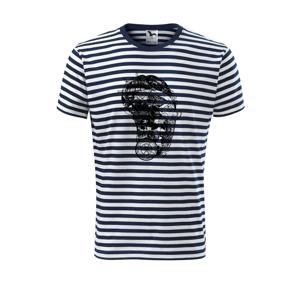 Pirátske tetovanie - Unisex tričko na vodu