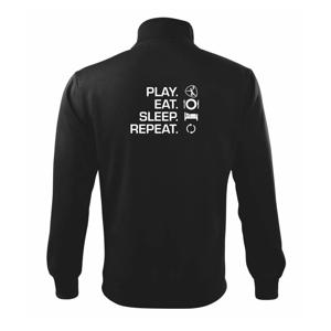 Play Eat Sleep Repeat hádzaná - Mikina bez kapucne Adventure