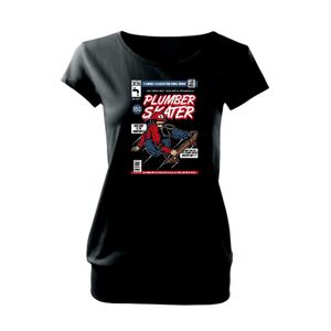 Plumber Skater - Voľné tričko city