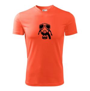 Plynová maska - Detské tričko fantasy športové tričko