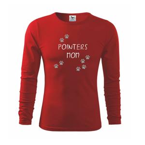 Pointers mom  (Reflexné labky) - Tričko detské Long Sleeve