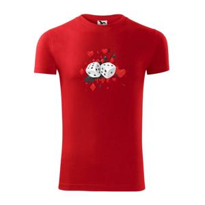 Poker kocky splash - Viper FIT pánske tričko