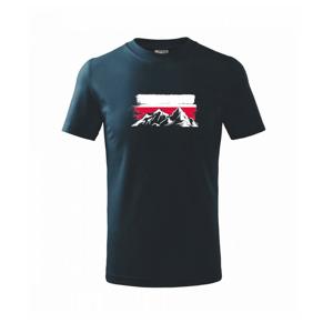 Poľské hory - Tričko detské basic