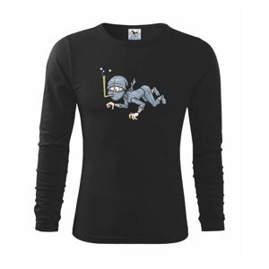 Potápač bez vzduchu - Tričko detské Long Sleeve