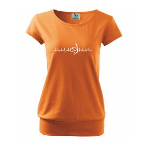 Potápač EKG - Voľné tričko city
