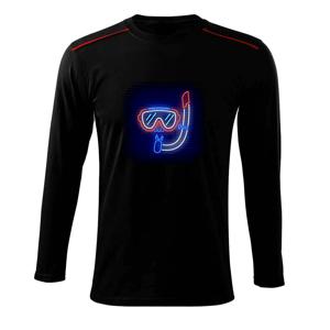 Potápač neon - Tričko s dlhým rukávom Long Sleeve