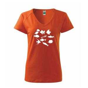 Potápač ryby štvorec - Tričko dámske Dream