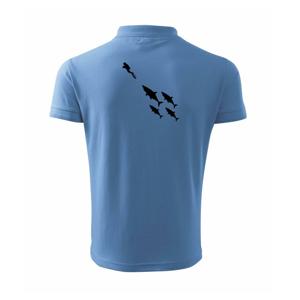 Potápač žraloky - Polokošeľa pánska Pique Polo 203