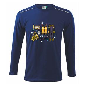 Potápačské vybavenie - Tričko s dlhým rukávom Long Sleeve