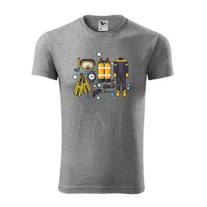 Potápačské vybavenie - Viper FIT pánske tričko