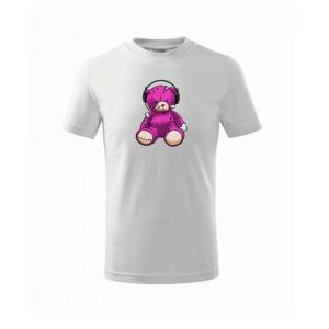Potrhaný medvedík - Tričko detské basic
