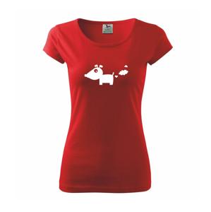 Prdiaci pes - Pure dámske tričko