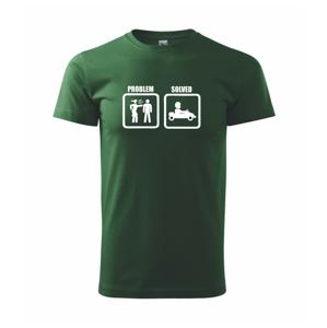 Problém - Auto - Heavy new - tričko pánske