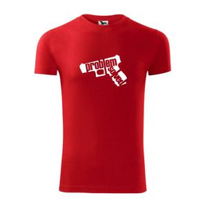Problém - zbraň - Viper FIT pánske tričko