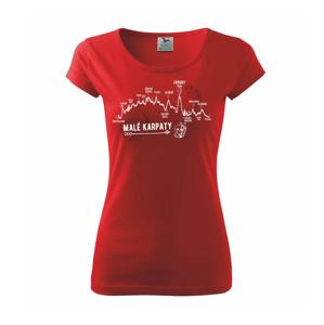 Profil Malé Karpaty - Pure dámske tričko