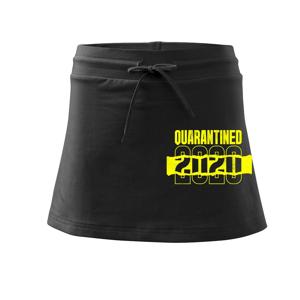 QUARANTINED - Športová sukne - two in one