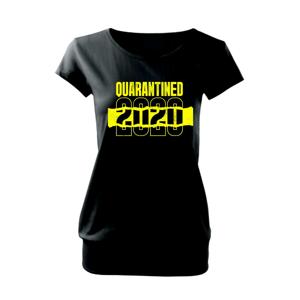 QUARANTINED - Voľné tričko city