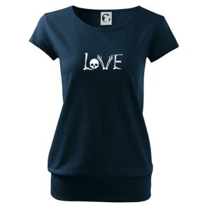 Radiologie LOVE - Voľné tričko city