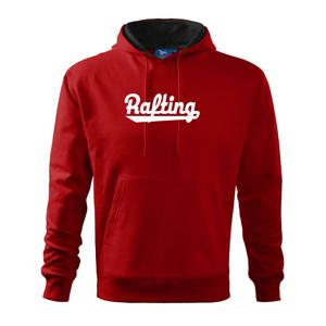 Rafting nápis - Mikina s kapucňou hooded sweater