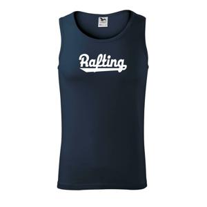Rafting nápis - Tielko pánske Core