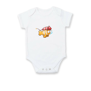 Raketová ryba - Dojčenské body