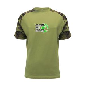 - Reflexní mikina - Raglan Military