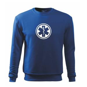 Rescue logo samostatné guľaté - Mikina Essential pánska