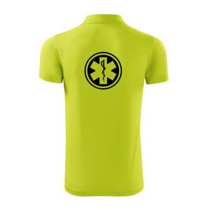 """Rescue logo samostatné guľaté - Polokošeľa Victory """"športové"""""""