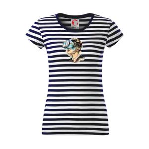 Retro virtuálna realita - Sailor dámske tričko