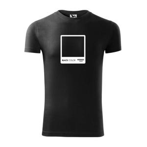 RGB black - Viper FIT pánske tričko