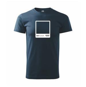 RGB navy - Heavy new - tričko pánske
