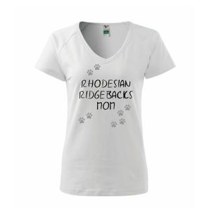 Rhodesian Ridgebacks mom (Rhodészký ridgeback)  (Reflexné labky) - Tričko dámske Dream