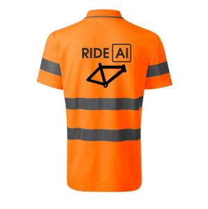 Ride Al - HV Runway 2V9 - Reflexné polokošeľa