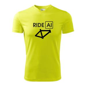 Ride Al - Pánske tričko Fantasy športové