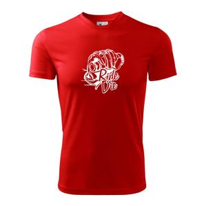 Ride or Die moto - Pánske tričko Fantasy športové