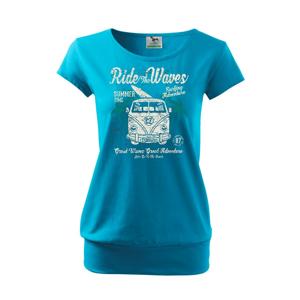 Ride The Waves - Voľné tričko city