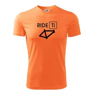 Ride Ti - Detské tričko fantasy športové tričko