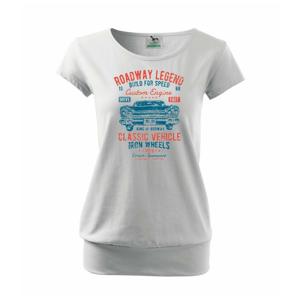 Roadway Legend 2 - Voľné tričko city