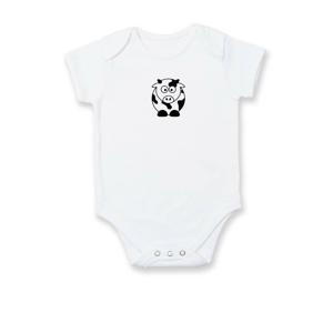 Roztomilá krava - Dojčenské body