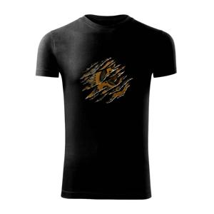 Roztrhnuté triko - ozubené kolesá - Viper FIT pánske tričko