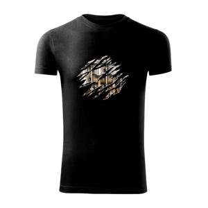 Roztrhnuté triko - piesty - Viper FIT pánske tričko