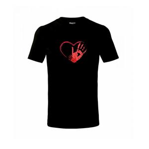 Ručičky v srdci - Tričko detské basic