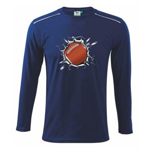 Rugby lopta v triku - Tričko s dlhým rukávom Long Sleeve